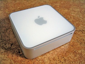 The original G4 Mac Mini -- What's giving you this site today (sort of)
